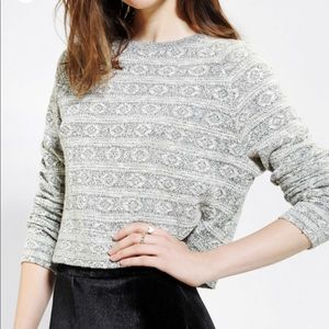 Staring at Stars Cropped Sweater